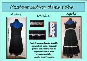 customisation robe