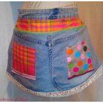 Une nouvelle ceinture de bricolage en jean!!!!