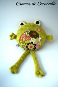 doudou grenouille graine de grenouille