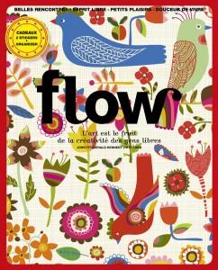 Coup de coeur pour le magazine Flow: couverture flow numéro 2