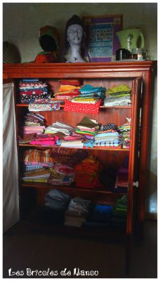 armoire aux merveilles: tissu