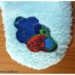 Bouillottes cervicales motif nuage