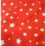 Bouillotte ventrale rouge à étoiles et rose
