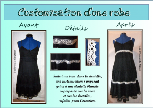 customisation robe
