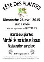Fêtes des plantes et marchés de producteurs et artisans locaux à RETIERS (35)