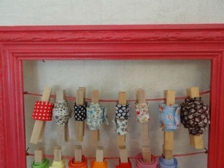 Trucs et astuces pour organiser son atelier:  épingles rubans