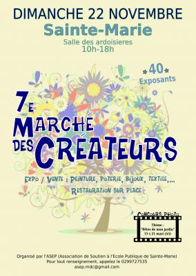 Marché des créateurs à SAINTE MARIE (35)