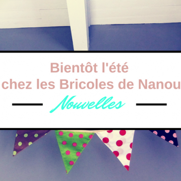 Bientôt l'été chez les Bricoles de Nanou – créations coutures été